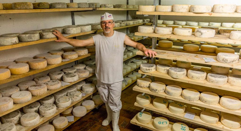 Cooperativa di comunità - Produzione formaggi